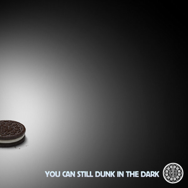 Oreos still dunk in the dark
